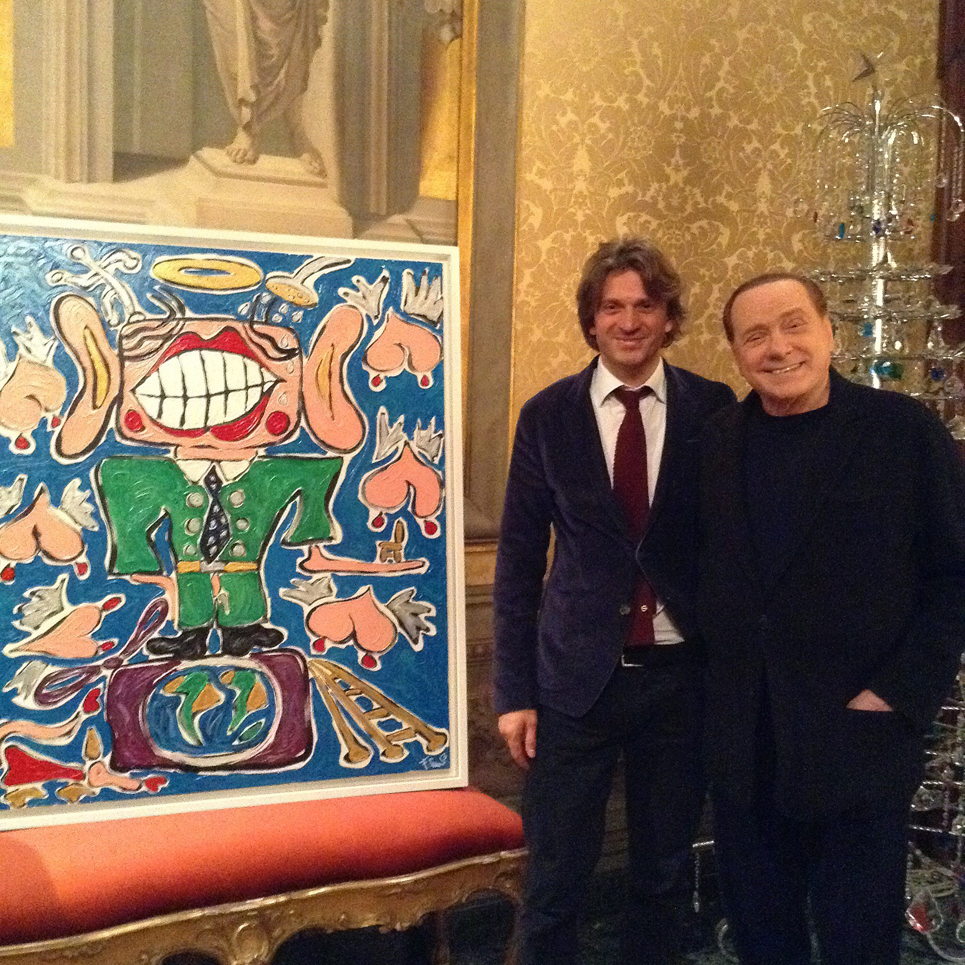 berlusconi and francesco cuomo conteporary artist