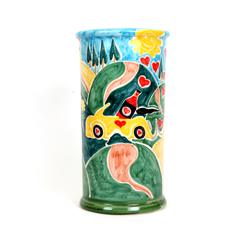 ceramic vase design colection chianti conteporary art conteporary artist francesco cuomo