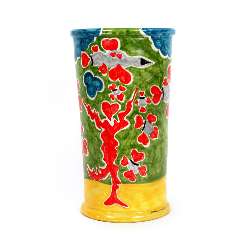 ceramica contemporanea vaso artificieri
