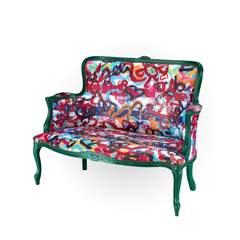design collection armchairs angels and devils contemporary art contemporary artist francesco cuomo