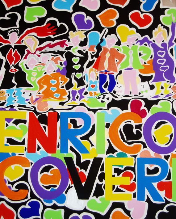 enrico coveri painting contemporary artwork conteporary artist francesco cuomo