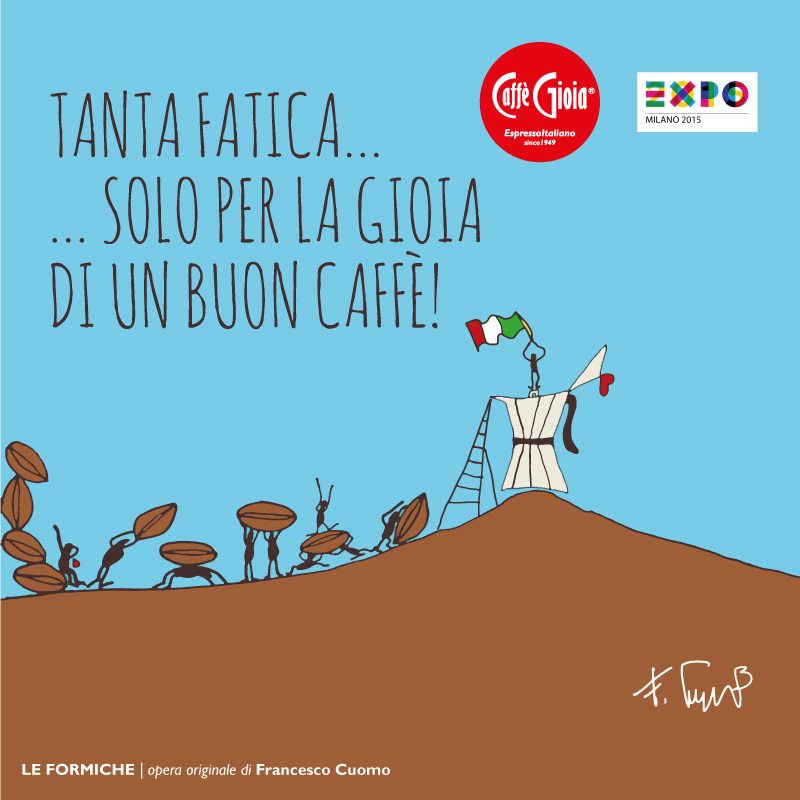 expo milano caffe gioia coffe maker conteporary artwork conteporary artist francesco cuomo