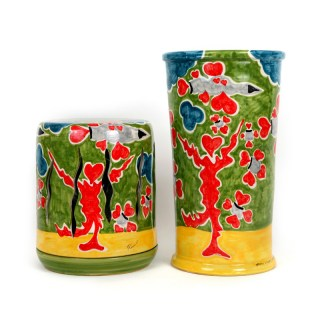 ceramica-contemporanea-design-da-collezione-lampada-e-vaso-artificieri-artista-contemporaneo-francesco-cuomo