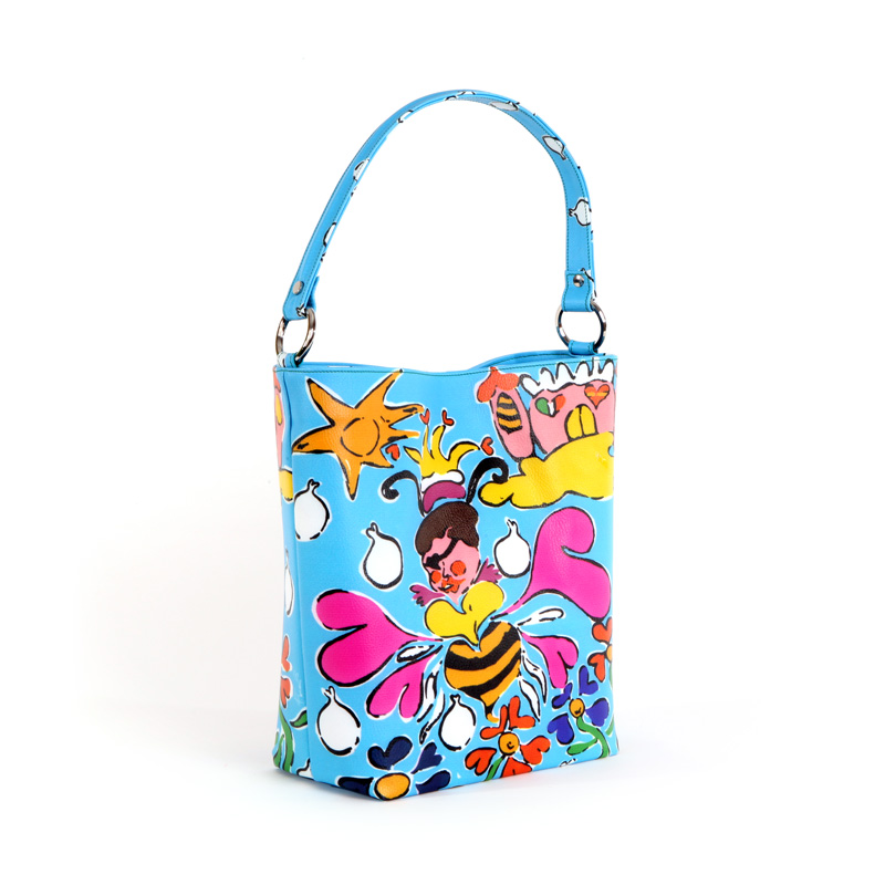 womans bag design collection eboli princess conteporary artist francesco cuomo