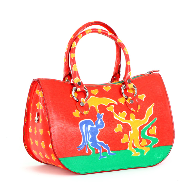 womans bag design collection love conteporary artist francesco cuomo