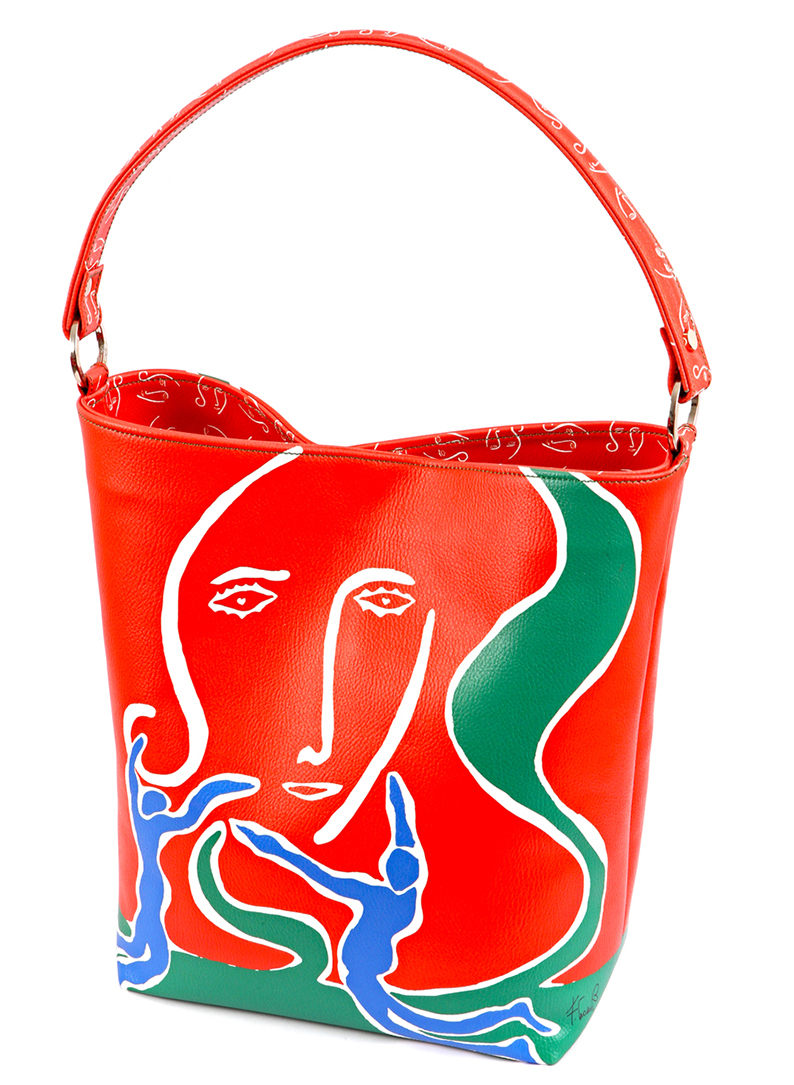 womans bag design collection love woman conteporary artist francesco cuomo