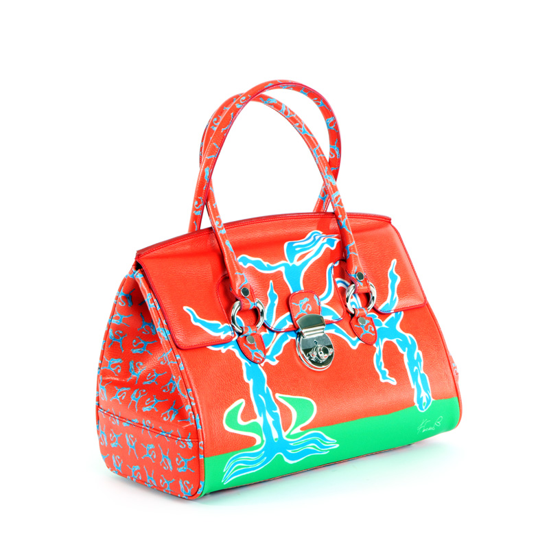 womans bag design collection monkey conteporary artist francesco cuomo